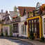 Gasse in Warnemünde © sp4764 - Fotolia
